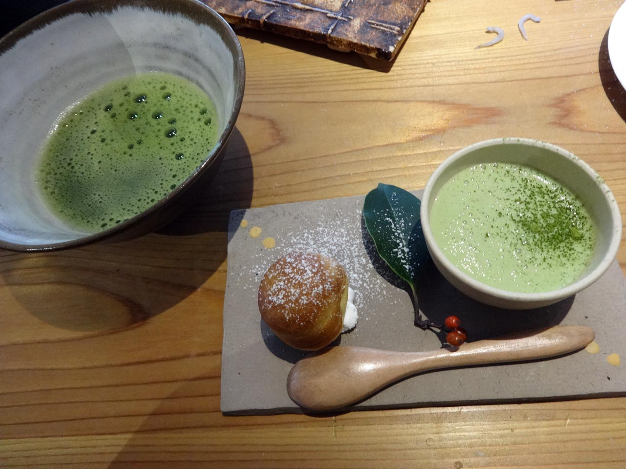 traditional japanese matcha drink