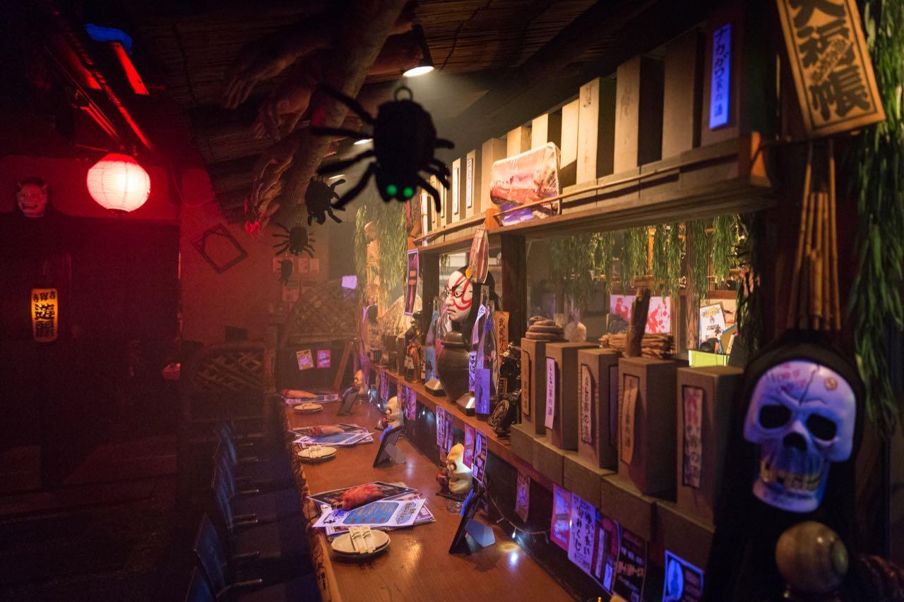 Kichijoji Yūrei Izakaya Tokyo S Underground Ghost Restaurant