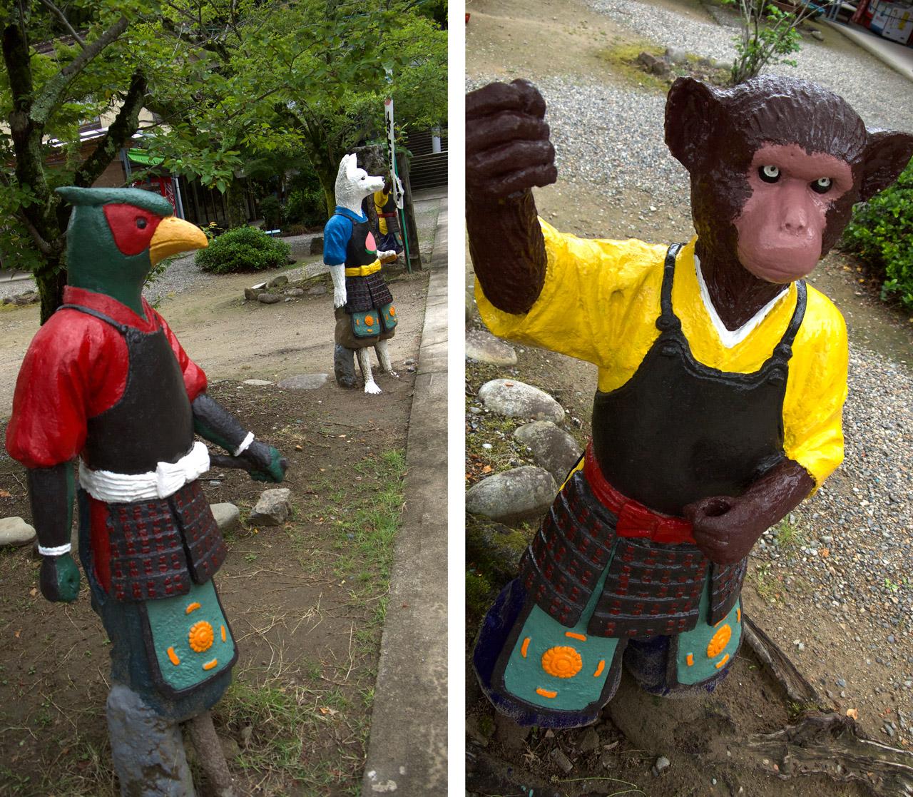 momotaro monkey