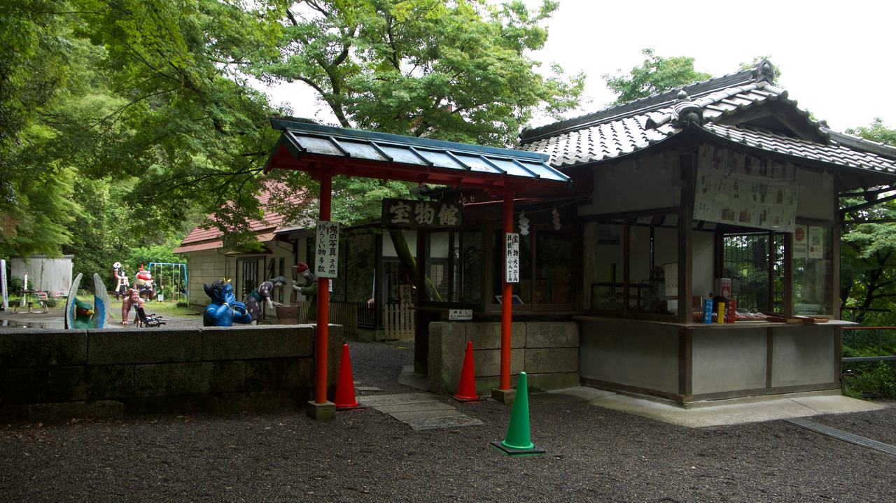 entrance to the momotaro museum