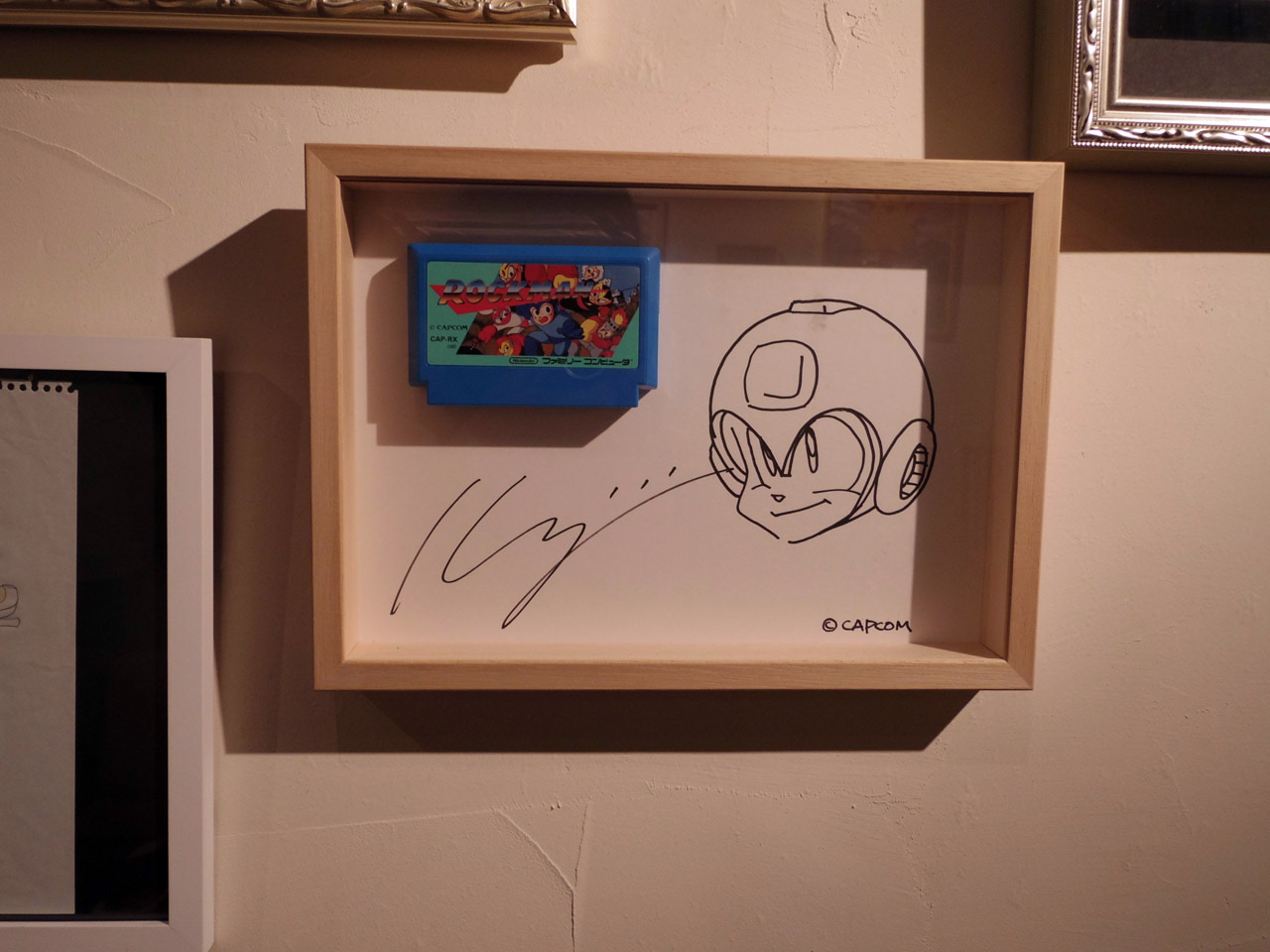 original art of mega man by keiji inafune
