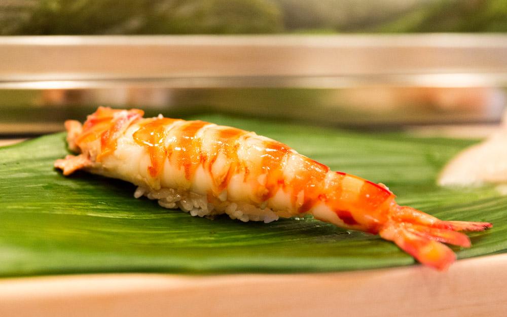 kuruma ebi sushi