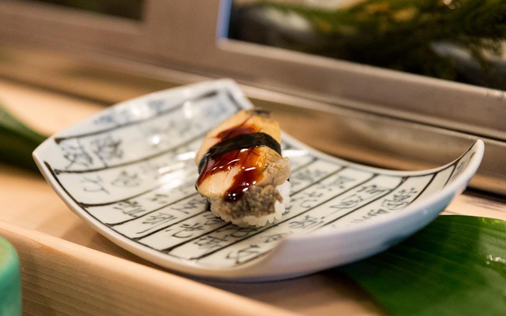 mushi awabi sushi