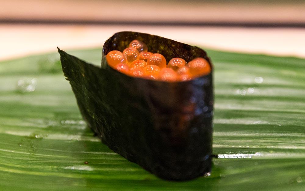 nama ikura sushi