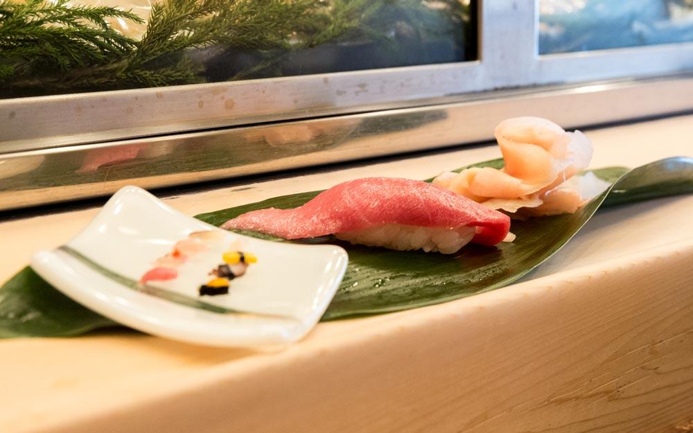 tiny sushi in japan