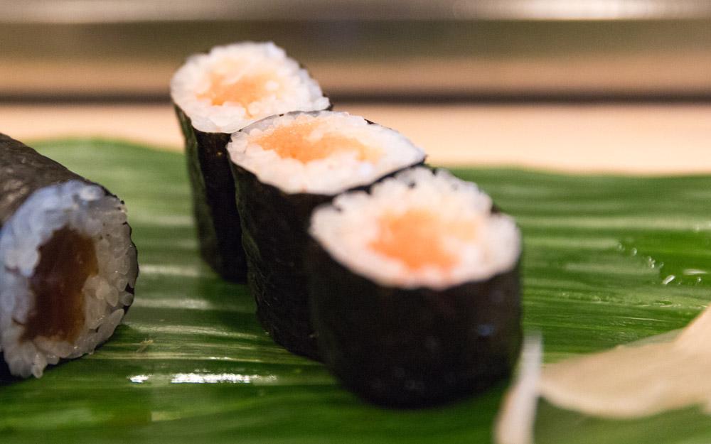 wasabizuke sushi