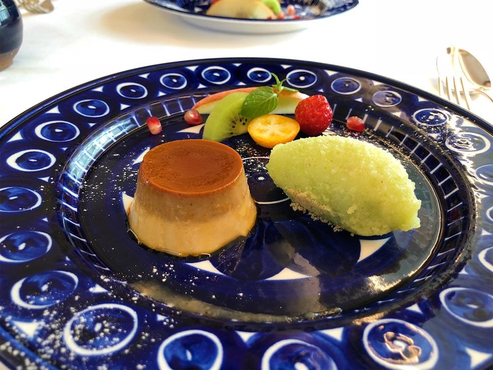 pudding dessert from tokyo ristorante massa restaurant