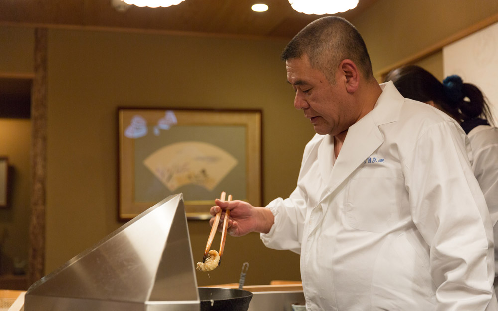 chef sakakibara at nanachome kyoboshi