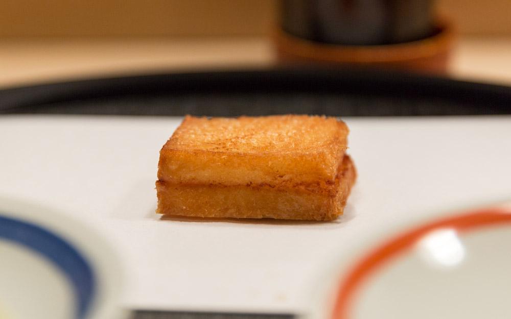 nanachome kyoboshi famous shrimp sandwich