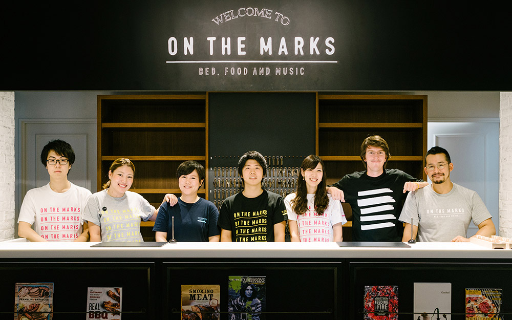 staff of on the marks hotel kawasaki