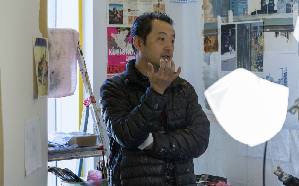 artist at park hotel tokyo
