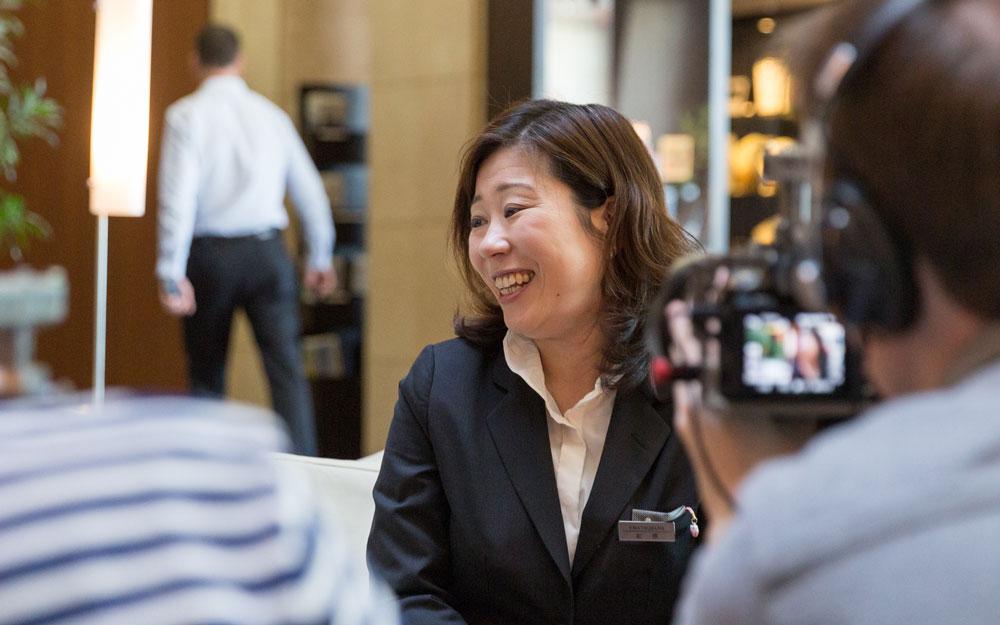 pr manager for park hotel tokyo