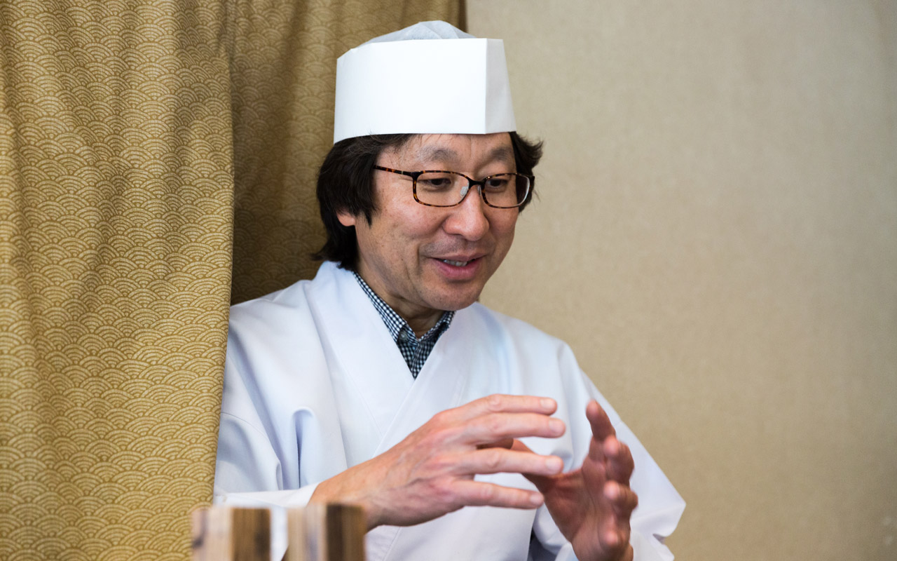 soichi maruyama of umebachi talking