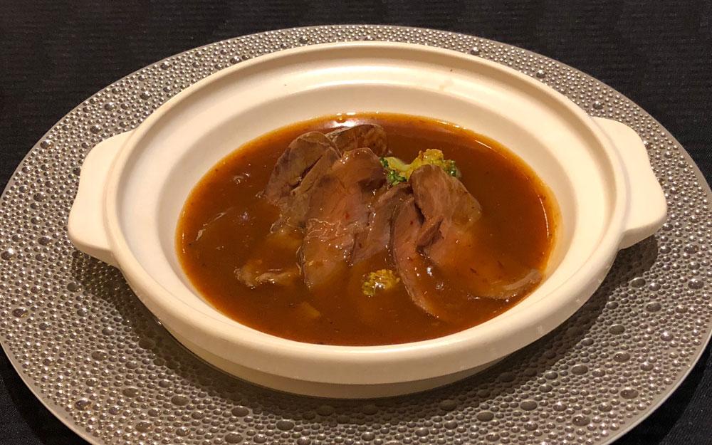 beef stew at szechuan restaurant chin