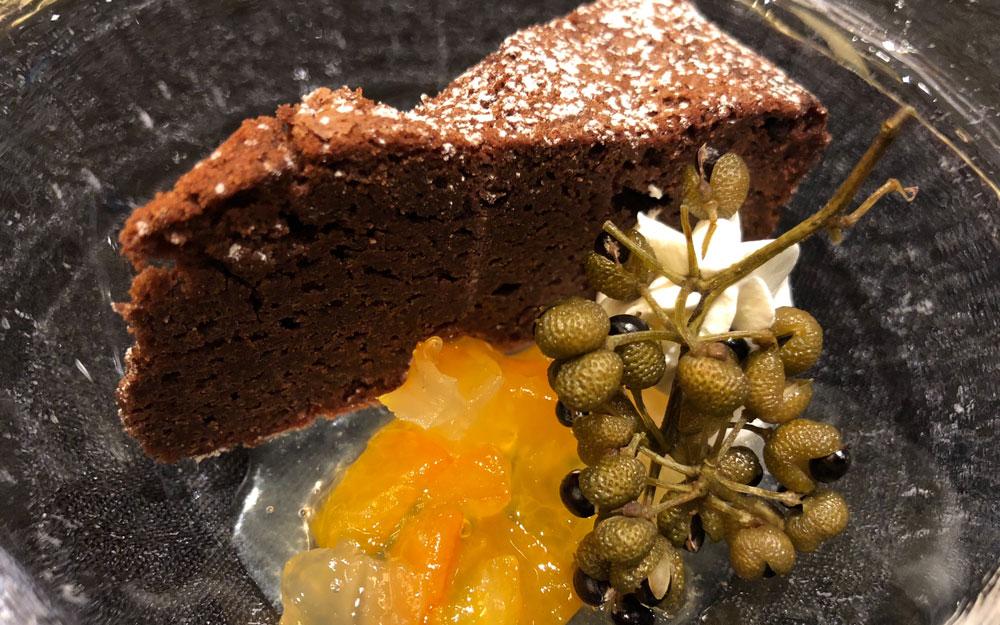 iron chef chinese restaurant chocolate cake