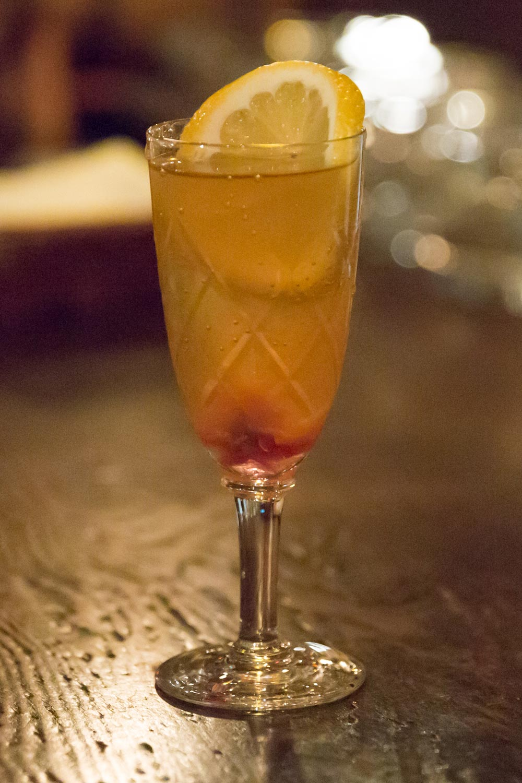 cinderella cocktail made at bar lupin