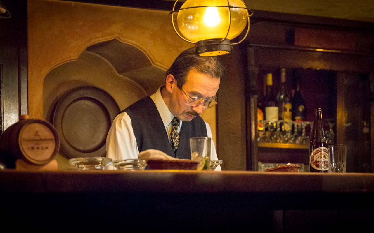 Bar Lupin: Old-fashioned Cocktails and Literary Greatness